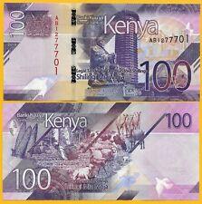 Kenya 100 Shillings P-NEW 2019 UNC Banknote