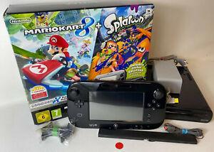 Nintendo Wii U 32GB Schwarz | Konsole Wii U gebraucht mit OVP inkl Mario Kart 8