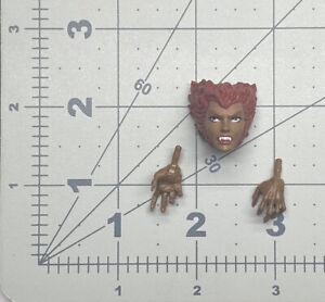 "1/12 or 6"" scale Marvel Legends Walgreens Xmen New Mutants Wolfsbane head hands"