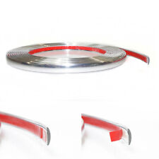 15MM x 3M Chrome Styling Moulding Trim Strip For Mercedes Actros Axor Atego