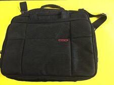 CODI Black Heavy Duty Nylon Laptop Notebook Computer Messenger Bag