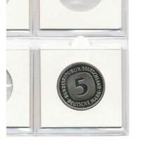 SAFE 100 Münzrähmchen 50x50mm zum Heften Innendurchmesser 40 mm