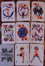 Philibert playing cards France pin up kartenspiel spielkarten can can  reprint