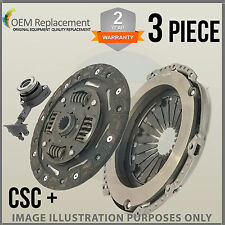 For Renault Trafic EL Platform 1.9 dCi 100 01-15 3 Piece CSC Clutch Kit