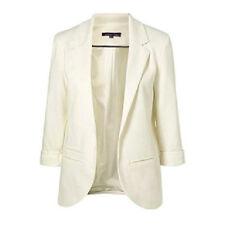 Casual Slim Solid Suit Blazer Jacket Coat Outwear Women Fashion Candy Color Suit