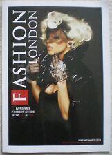 Lady Gaga – Fashion London – February/March 2016