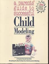 Child Modeling Photography Book With Bonus: Info Of Talent Agencies. Sealed.