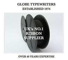 *BLACK* RIBBON FOR 'REMINGTON VINTAGE TYPEWRITERS' *MANUAL REWIND+INSTRUCTIONS*