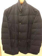 Beretta Schneiders 2411151 Santino Flannel Quilted Coat Down Jacket Navy