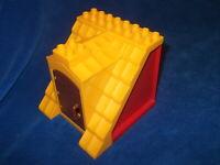 1x Lego Duplo Gebäude Scheune B-Ware rot 6x16x6 Haus Bauernhof 2655 4802 4800
