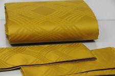 NEW FRETTE Luxury Trapuntino King Duvet +3 Euro Shams 4 pcs SET Gold Green