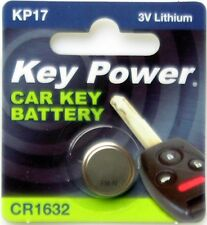 New Key Power 1632 Car Key Cell Battery 3V Lithium