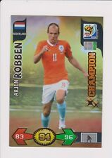 Panini Adrenalyn XL World Cup 2010 Sudáfrica campeones tarjeta. Claude Robben .2