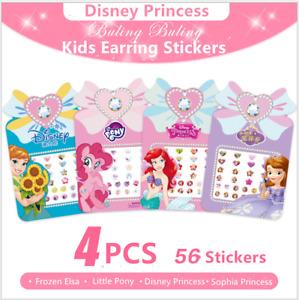 56 Elsa Frozen Disney Princess Kids Girls Earring stickers Party Bag Fillers