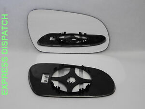 Right Side Convex Wing Mirror Glass For VOLKSWAGEN FOX 2003-2014 Heated #223
