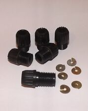 4 Cyl. DISTRIBUTOR CAP & COIL ACORNS & SPLIT WASHERS