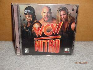 Vintage 2000s World Championship Wrestlng Nitro PC Game Hulk Hogan Complete