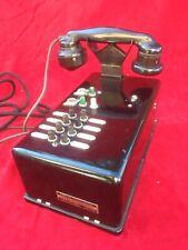 Téléphone Ancien Vintage Phone Télésignal Haniez & Bergé