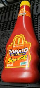 MCDONALD'S TOMATO KETCHUP BOTTLE VINTAGE 2006,UNOPENED, UNUSED, VERY RARE ITEM