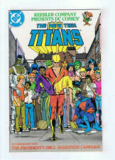 Keebler Company Presents DC Comics The New Teen Titans 1983 F/VF+
