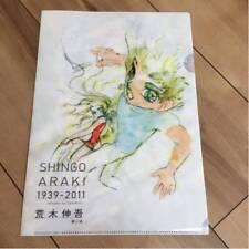 SHINGO ARAKI CLEAR FILE X3 + SHITAJIKI 2012 SAINT ULYSSES 31 GOLDORAK LADY OSCAR
