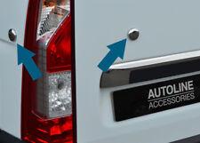 Chrome Coffre Arrière Porte Plug Couvre 4Pcs pour s'adapter RENAULT MASTER (2010+)