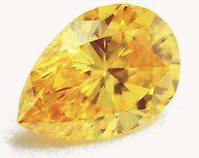 18.28ct Unheated Yellow SAPPHIRE 13X18MM Pear SHAPE AAAA+ COLOR LOOSE GEMSTONE