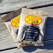 AC LEGG'S OLD PLANTATION SAUSAGE SEASONING BLEND #10, 2 PACKS - FREE SHIPPING