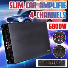 6800 Watt Auto Verstärker 4 Kanal Endstufe Car HiFi Amplifier Boost 12V Audio