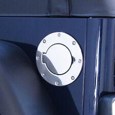 Tankdeckel Blende Edelstahl Jeep Wrangler TJ 97-06 Rugged Ridge 11134.01