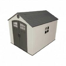 Lifetime 8x10 Outdoor Storage Shed Kit w/ Horizontal Siding [60238]