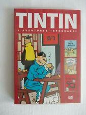 DVD Tintin/En Amérique/Les cigares du pharaon/Le lotus bleu  Ed.Casterman 2009