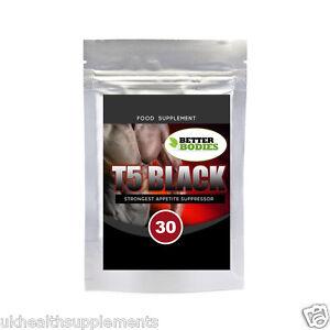T5 Noir Puissant Perte De Poids Amaigrissement Capsules Pilules De Régime