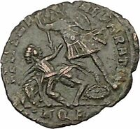 CONSTANTIUS II son of Constantine the Great Roman Coin Battle Horse man i39373