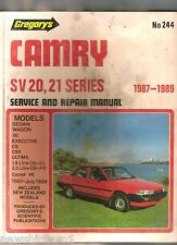 #M2. CAR  MANUAL- TOYOTA CAMRY SV20, 21 1987 - 1989, DAMAGED