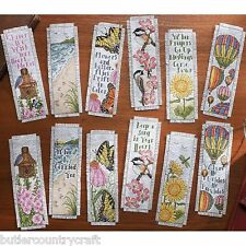 Inspired By Nature Bookmarks 45709 Bucilla Counted Cross Stitch Kit