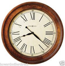 Howard Miller 620-242 Grand Americana - Large Cherry Wooden Framed Wall Clock