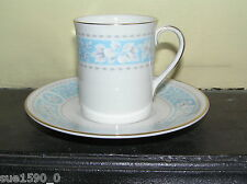 Royal Doulton 'Hampton Court' china coffee can and saucer - excellent condition