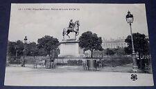CPA CARTE POSTALE 1906 LYON RHONE ALPES PLACE BELLECOUR STATUE DE LOUIS XIV