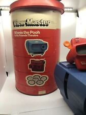 Winnie The Pooh & His FriendS Theatre View Master &Entertainer Projector Working