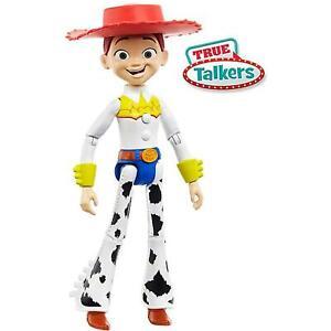 Disney Pixar Toy Story 4 True Talkers Jessie Posable Talking Figure Mattel DEALS