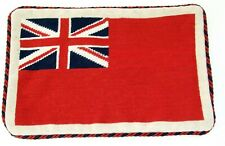Civil Ensign Red Flag Needlepoint Cushion Cover Tapestry Handmade