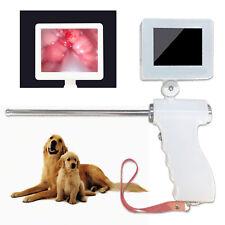 """360° Lcd Visual Artificial Dog Insemination Gun Kit w/ 5Mp Camera 3.5"""" Screen Us"""