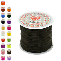 50M Strong Stretch Elastic Cord Wire rope Bracelet Necklace String Bead 0.5mm -Q