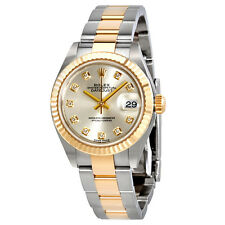 Rolex Lady-Datejust Silver Diamond Dial Automatic Ladies Watch 279173SDO