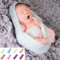 Newborn Baby Blanket Boys Girls Stretch Wrap Infant Photography Photo Prop Rug