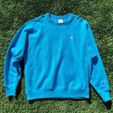 MINT Mens Turquoise Champion Reverse Weave Crewneck Sweat Shirt XL