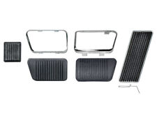 New 1966-67 Fairlane Pedal Pad Kit Gas Brake Clutch MT Manual Brakes Ford