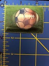 Soccer Football Ball Patch Sports Game Nfl Ncaa Fifa Mls Lenticular Image Lens