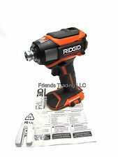 Ridgid 18 Volt 18V GEN5X Brushless Motor 3 speed Impact Driver Drill R86037 NEW